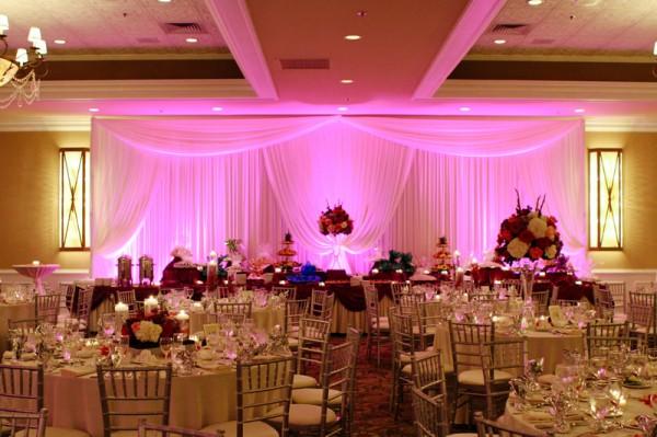 Diy Wedding Lighting With Uplighting