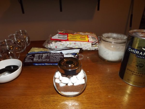 Hot Cocoa in a Jar