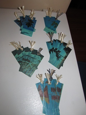 "DIY ""Laminated"" Bookmarks"