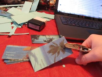 DIY Laminated Bookmarks