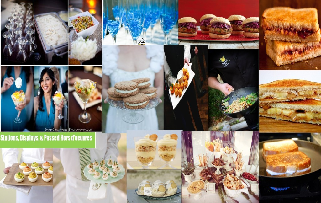 Budget Stations1 in Top 10 Inexpensive Wedding Foods   and blog