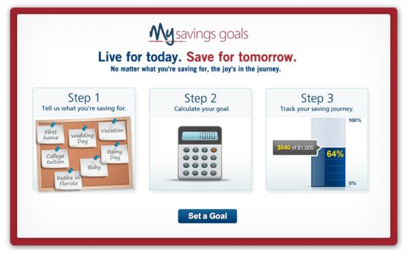 my savings goals