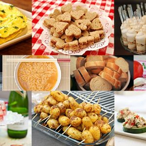 inexpensive wedding foods