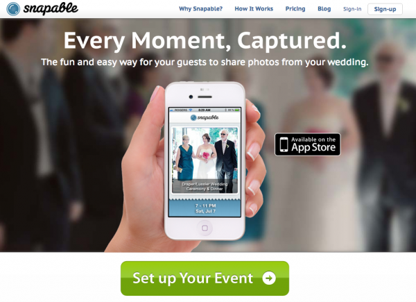 MainPageScreenshot 600x435 in {Partner Love} Capture Every Moment with Snapable and sponsors partners