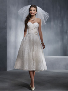 This was an early favourite, when I was focusing on short styles. By Alfred Angelo.