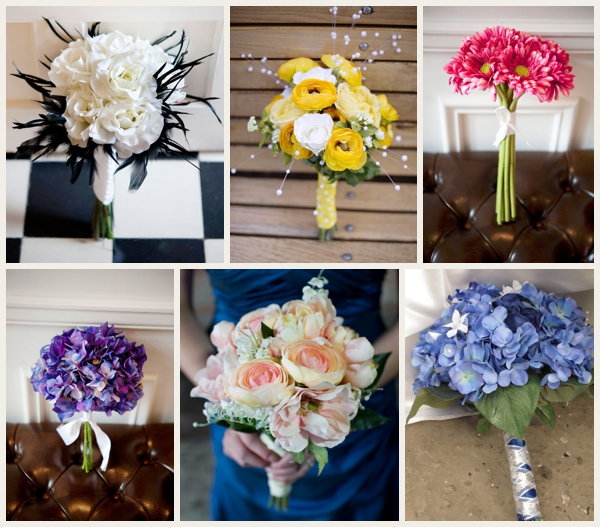 Afloral silk bouquets
