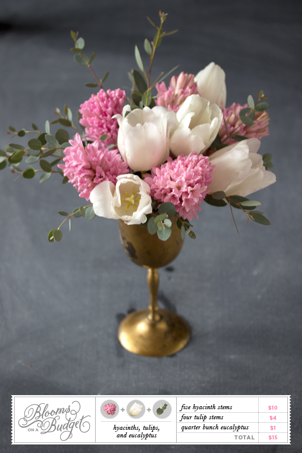 Blooms on a Budget #06 by Somewhere Splendid via The Budget Savvy Bride.