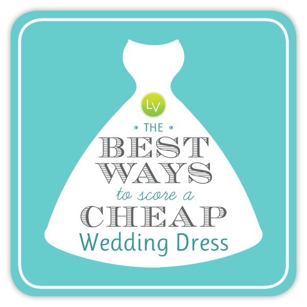 The best ways to score a cheap wedding dress: