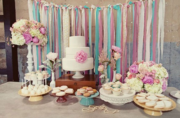 DIY Dessert Table Backdrop