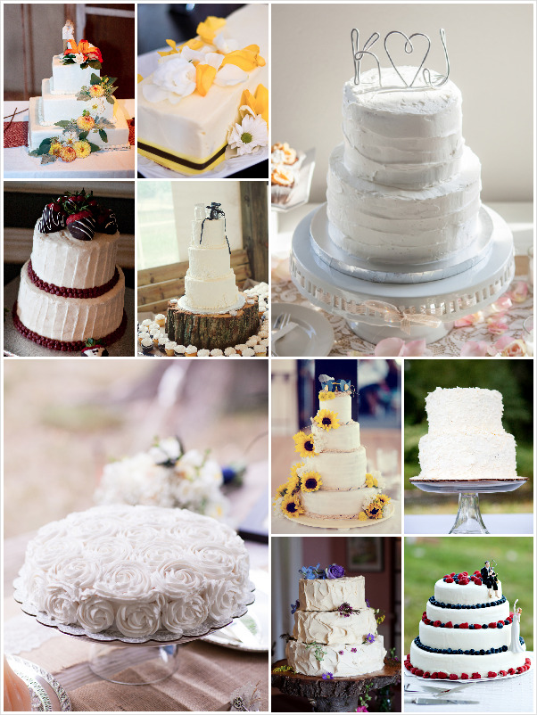 very simple wedding cake designs simple wedding cakes 21583