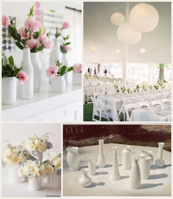 Tips For Wedding Decorations Cheap On A Low Budget: Glamorous Wedding On A Small Budget