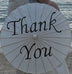 thank you parasol