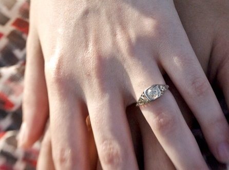 heirloom engagement ring