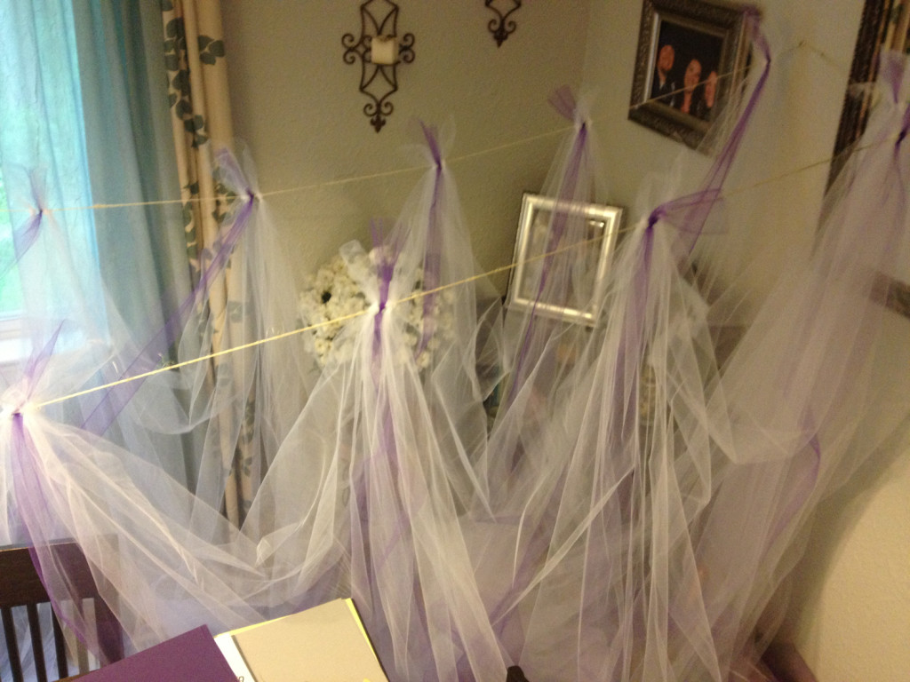 Tulle Ing Around And Other Ways I 39 M A Diy Bride The Budget Savvy Bride