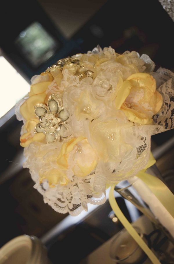 Yellow version - Junior Bridesmaid Bouquet