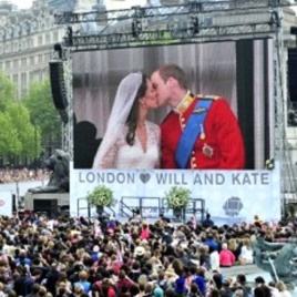 Exaggeration of my case in point, however, the last thing I wanted was this moment to be publicly posted all over facebook, let alone shared with people either of us knew.  Source:  http://www.voanews.com/content/britains-royal-wedding-day-arrives-120945419/138665.html