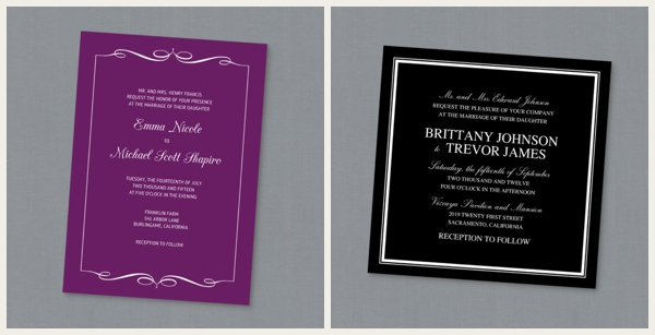 Mixbook Wedding Invitations 0002