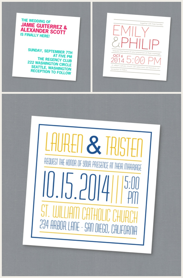 Mixbook Wedding Invitations 0003