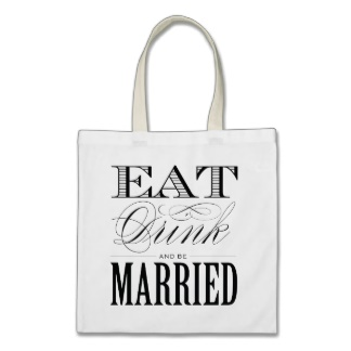 cute wedding tote favor