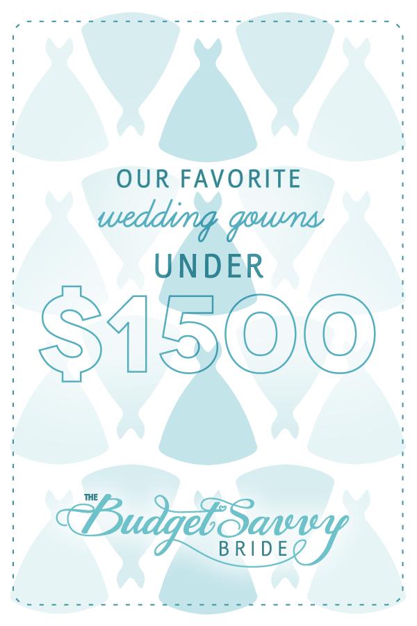 100 wedding dresses under $1500