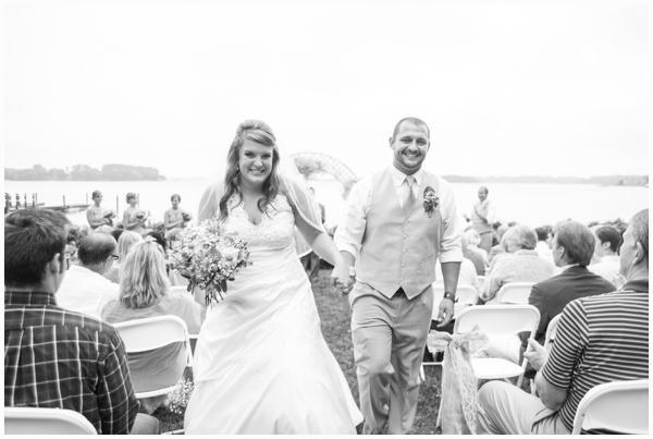 rustic outdoor wedding 0018 Lakeside wedding in North Carolina