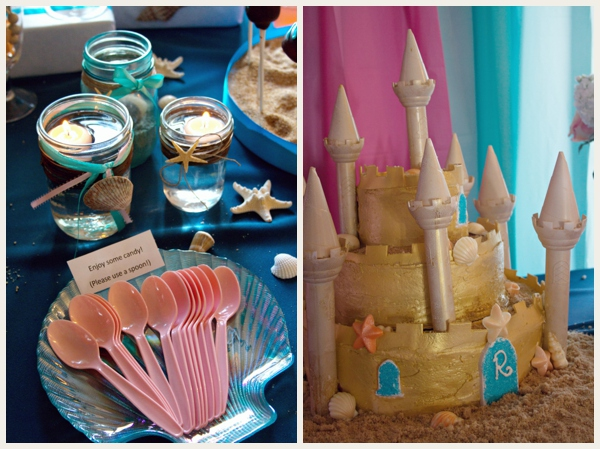 Beach Wedding - Cake Table