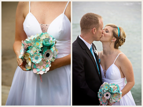 crafty beach wedding by Studio Sequoia