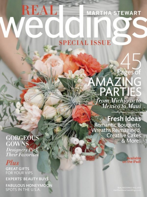 Martha Stewart Weddings - Fall 2013