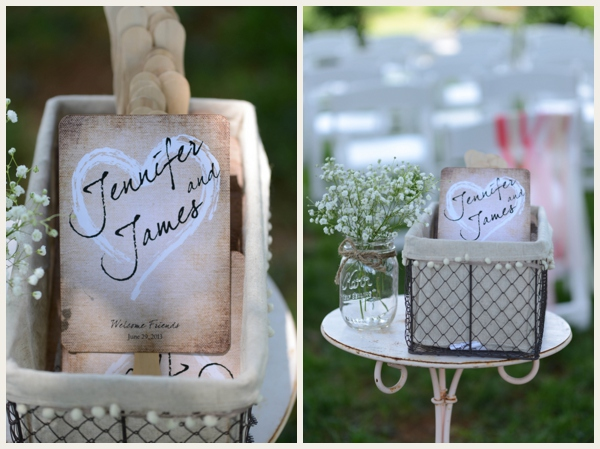 crafty wedding details