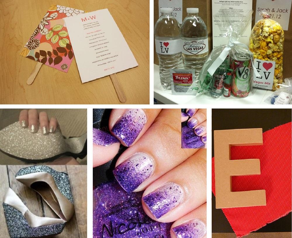 Top 5 DIY Projects Purple Glam Wedding Inspiration