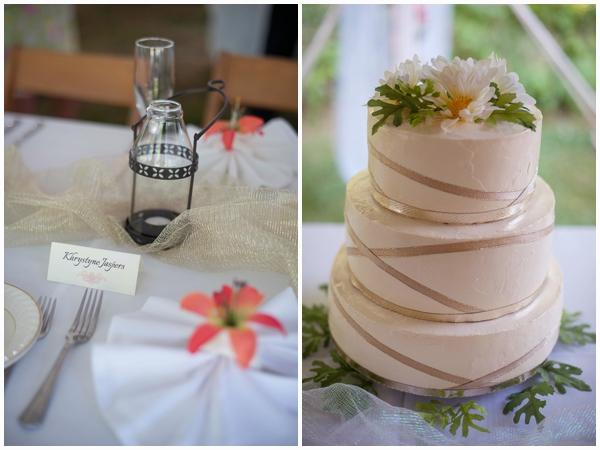 upstate New York budget wedding cake