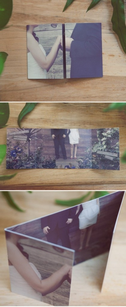gatefold save-the-date