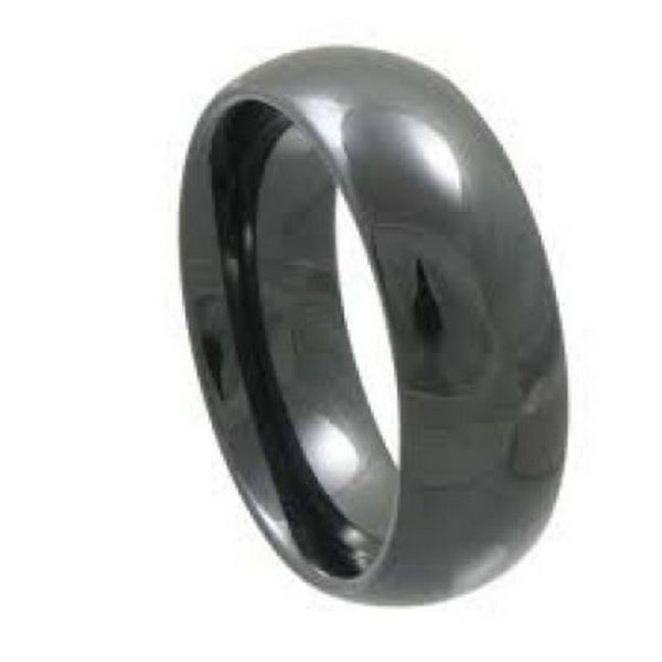 ceramic Alternative Wedding Band