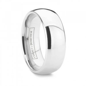 cobalt chrome wedding band