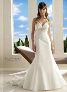 My first wedding dress (Jasmine Bridal)
