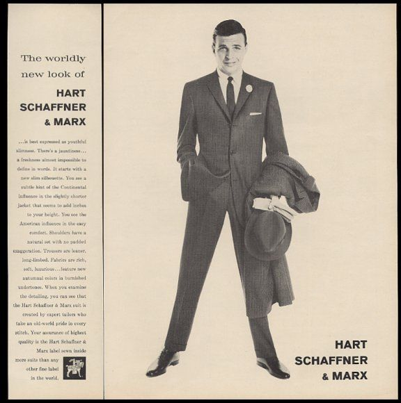 Mad Men-Era Suit Ad