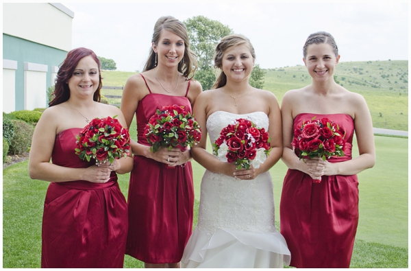 red and damask wedding_0007