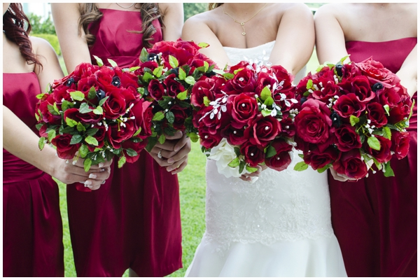 red and damask wedding_0008
