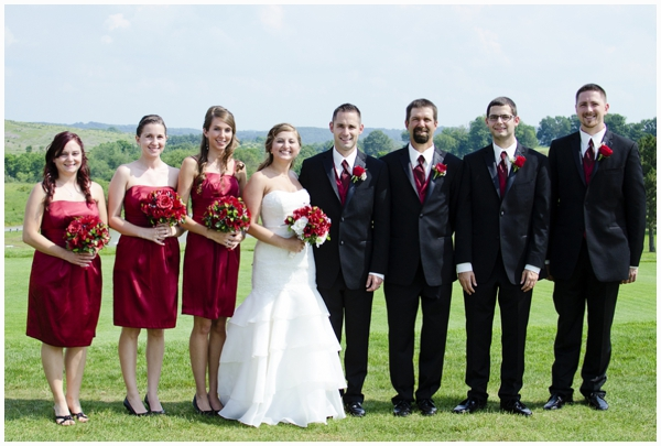red and damask wedding_0017