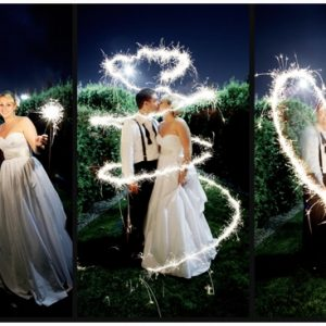 wedding sparklers 2