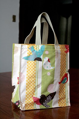 Welcome Bags tote tutorial
