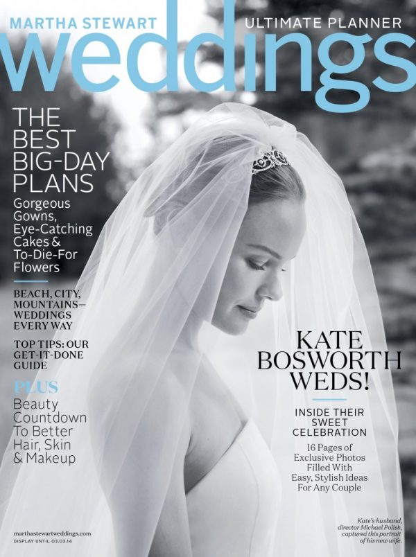 Martha Stewart Weddings Winter 2014 Cover