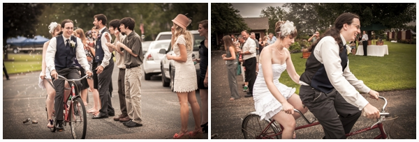 wedding bicycle