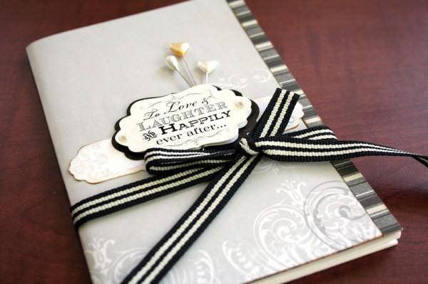DIY wedding binder