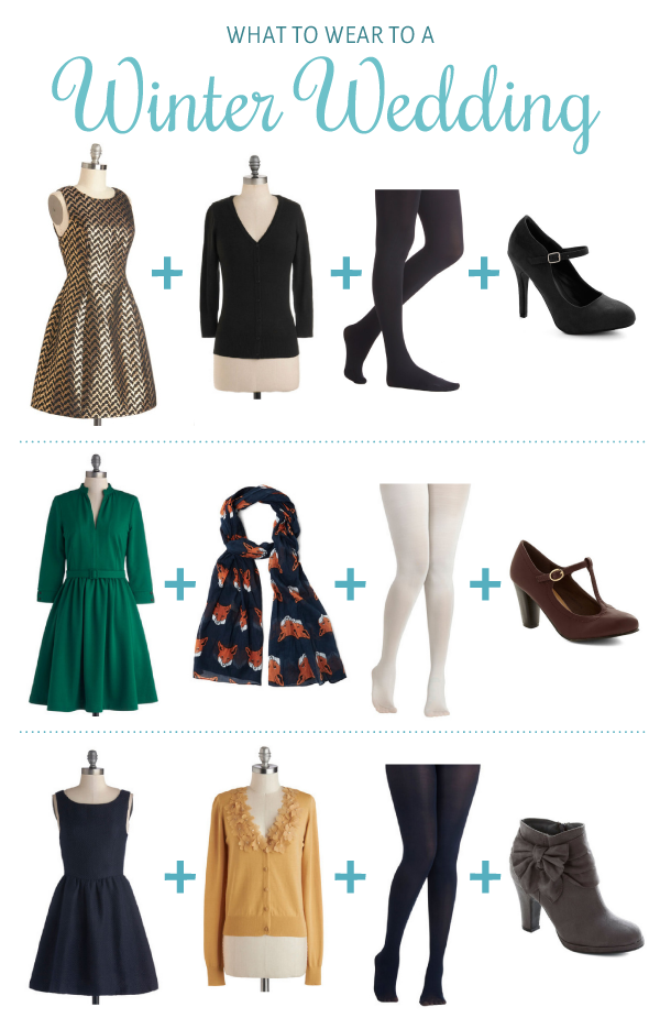 Winter Wedding Outfit Ideas