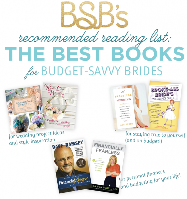 BEST BOOKS FOR BUDGET BRIDES