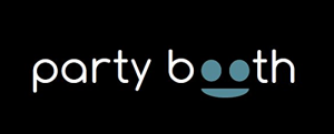 Party booth logo