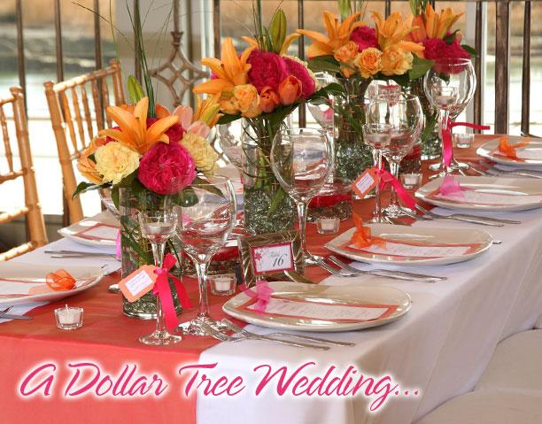 A Dollar Tree Wedding 1