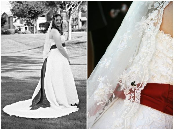 black white red wedding_0003