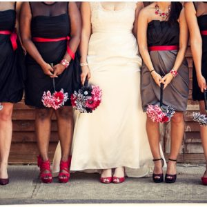 black white red wedding_0018